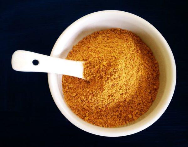Vaingana bhajja pitto - mixed roast powder