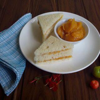 Acerola Cherry Jam sandwiches