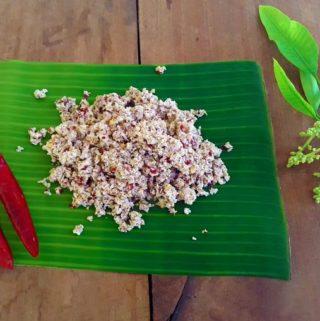 Mango Blossoms Chutney / Ambya Phulla Chutney