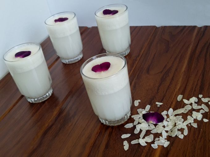 Vegan Coconut Smoothie - A drink of love