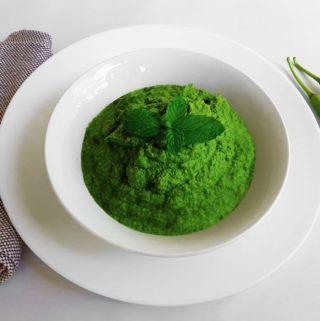 Green Mint / Spearmint Chutney