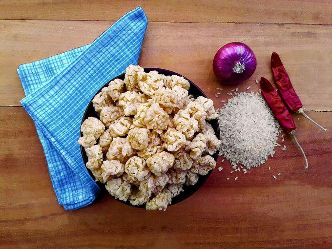Odi / Vadi / Vodi / Oodi - Spicy Crisp Konkani Rice Fries