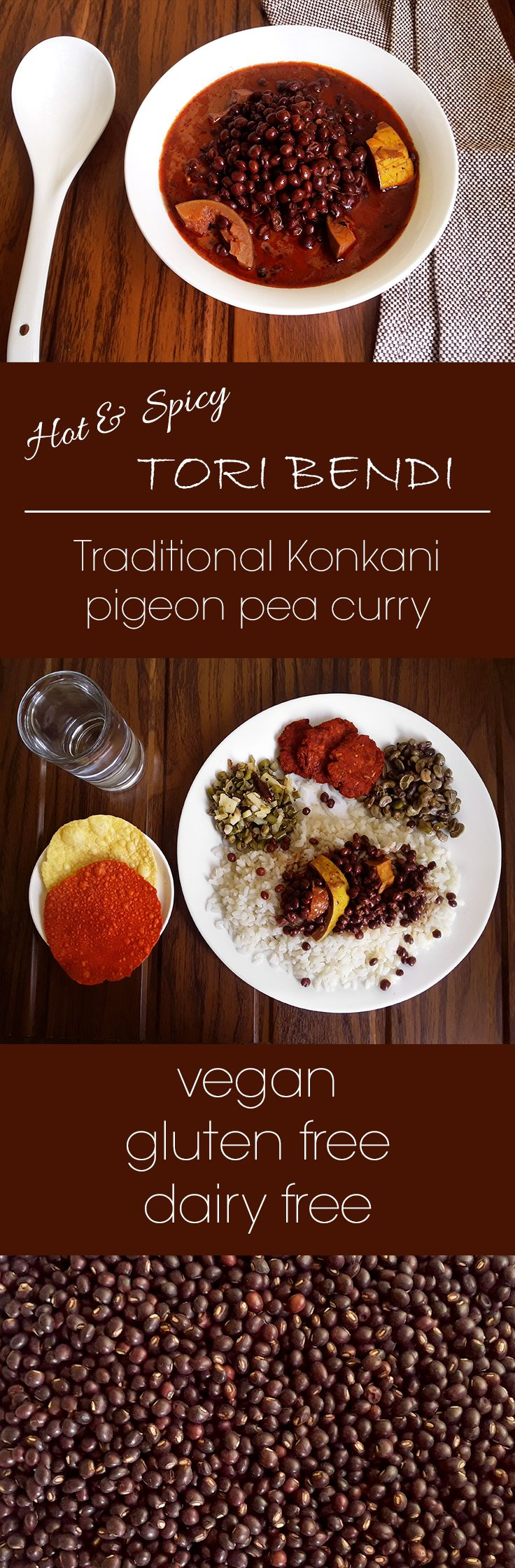 Tori Bendi - Pigeon pea chili curry - Pinterest